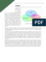 Ecological Economics Wikipedia