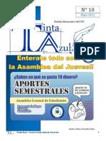 Boletín Informativo del CFC Tinta Azul N°10-Año 1