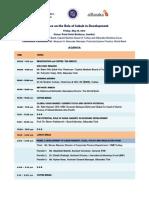 2012 May Sukuk Conference World Bank Agenda