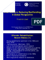 What Works in Reducing Reoffending