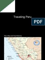 Traveling in Peru