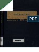 Reservoir Simulation-Mattax Dalton-SPE Monograph