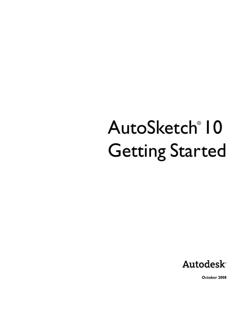 auto sketch 10 1 tutorial technical drawing button computing rh scribd com AutoSketch 10 Windows 8 Compatibility AutoSketch 10 Tutorial
