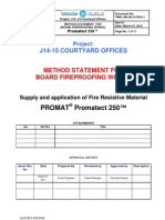 Method BOARDS - Promatect 250T