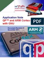 An Qp and Arm Cortex m Gnu