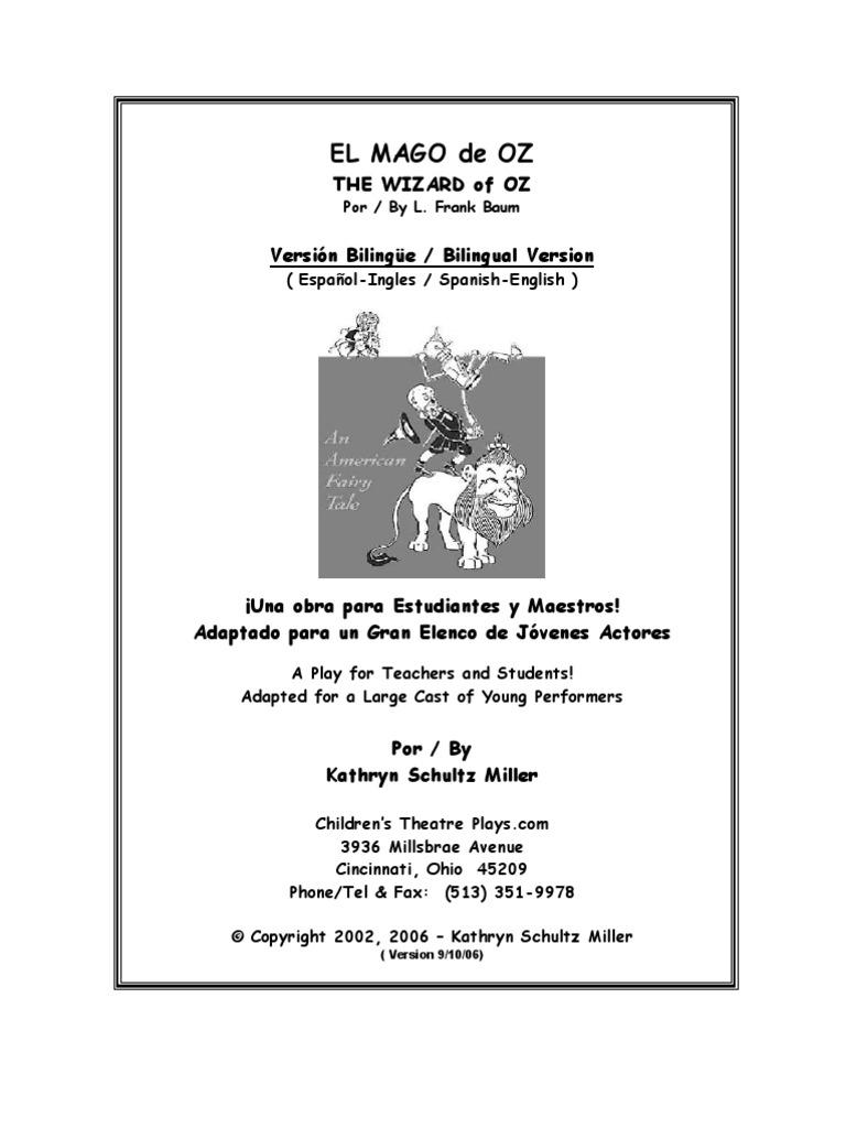 Teatro Mago de Oz | Scarecrow (Oz) | Oz (Franchise)