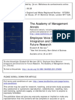 508102_Employee Voice Behavior , MORRISON