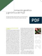 La transformación genética y genómica del frijol