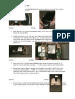 Panduan Membongkar Blackberry 9800