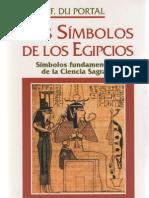 Du Portal, Frederic-Los Simbolos de Los Egipcios