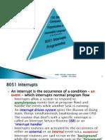 Interrupt Programming 8051