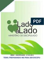 SÉRIE DISCIPULADO LADO A LADO -ESTUDO 1-27-05-12 LÍDER