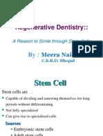 Regenerative Dentistry