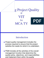 Planning Project Quality Unit 5 SPM MCA FINAL