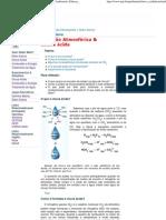 Poluição Atmosférica & Chuva Ácida - Química Ambiental e Educação Ambiental
