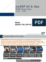 SAP OIL & GAS