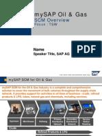 SAP OIL & GAS