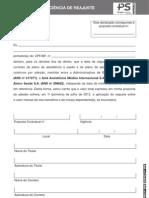 Amil - Declaracao Padrão Adesão 21-3-2012