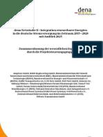 Ergebniszusammenfassung Dena-Netzstudie II