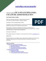 MATEMÁTICA FINANCIERA PARA CICLOS DE ADMINISTRACIÓN