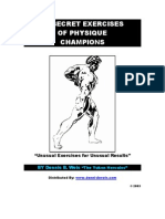 Secret Exercises of Physique Champions