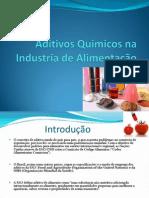 Aditivos Quimicos na Industria de Alimentação