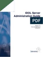 Idol Server 7.5 Admin Rev5