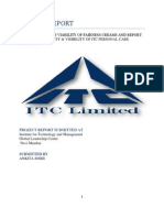 Project Report on Itc Repaired 12