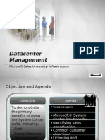 Microsoft Data Center Management- Umesh Pandit