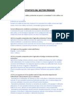 TEMA 6 – LES ACTIVITATS DEL SECTOR PRIMARI