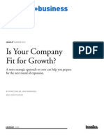s+b - Fit-For-Growth