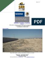 CBR PLUS proyecto SEDENA Frontera Coahuila