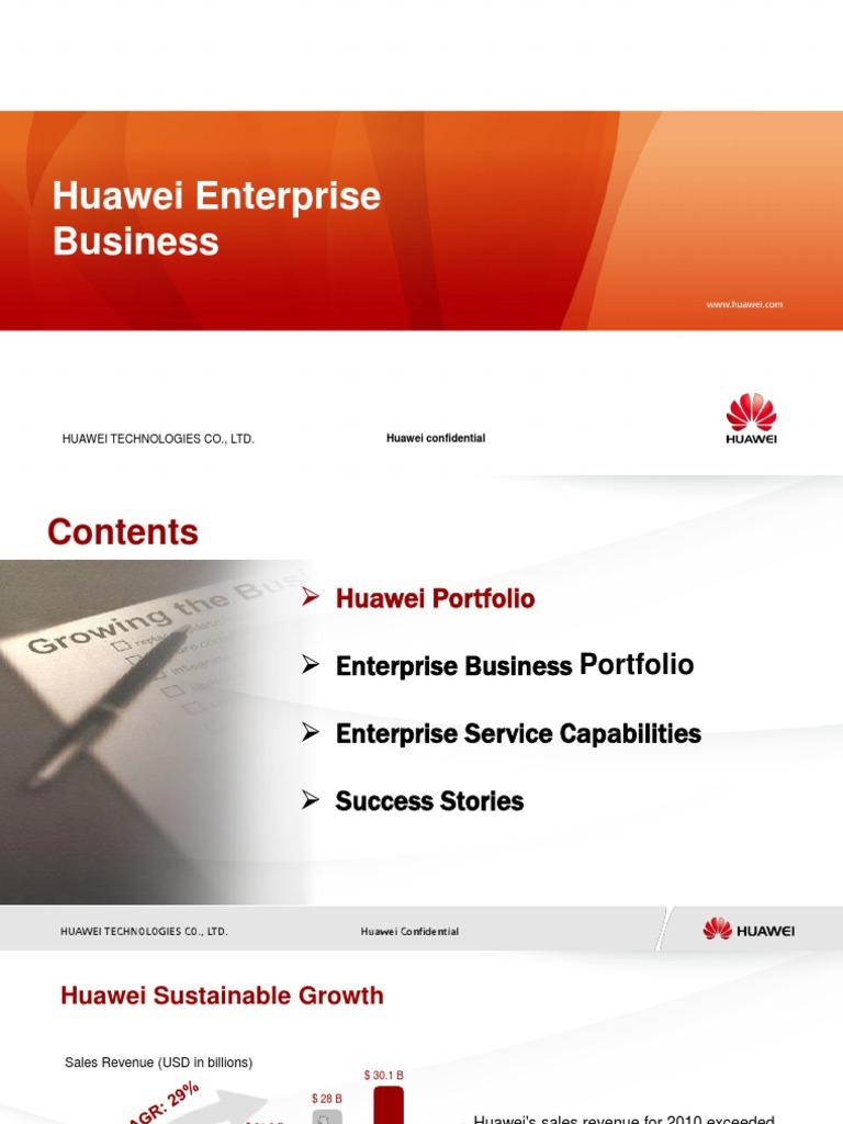 hua wei business
