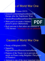 Causes WWI (1)