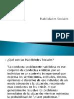 Clase 5.Habilidades sociales