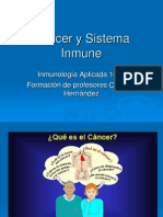 Cancer y Sist Inmune