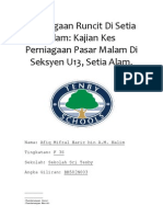 Penilaian Menengah Rendah (PMR) 2012 Tingkatan 3 Kerja Kursus Geografi Tugasan 2