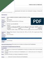 FORMATO DE FACTIBILIDAD
