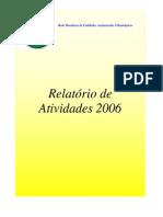 Relatorio Anual de Atividades 2006
