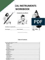 Musical Instruments Workbook