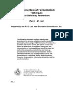 Fundamentals of Fermentation