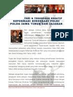 Implementasi Reformasi Birokrasi Polri Polda Jatim