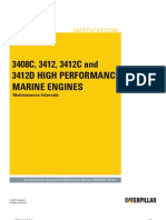 3408C,+3412,+3412C+and+3412D+High+Performance+Marine+Engines Maintenance+Intervals