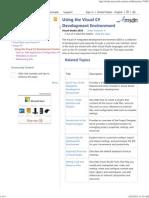Using the Visual C# Development Environment