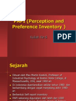 6. PAPI (Perception and Preference Inventory )