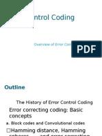 Error Control Coding