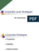 Corporate Level Strategies[1]