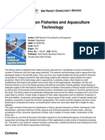 Handbook on Fisheries and Aquaculture Technology