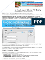 Photoshop Variables_ How to Import External PSD Smartly_ _ On Extra Pixel - Web Design & Development Online Magazine