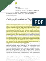Jeffrey D. Sachs - Ending Poverty Trap